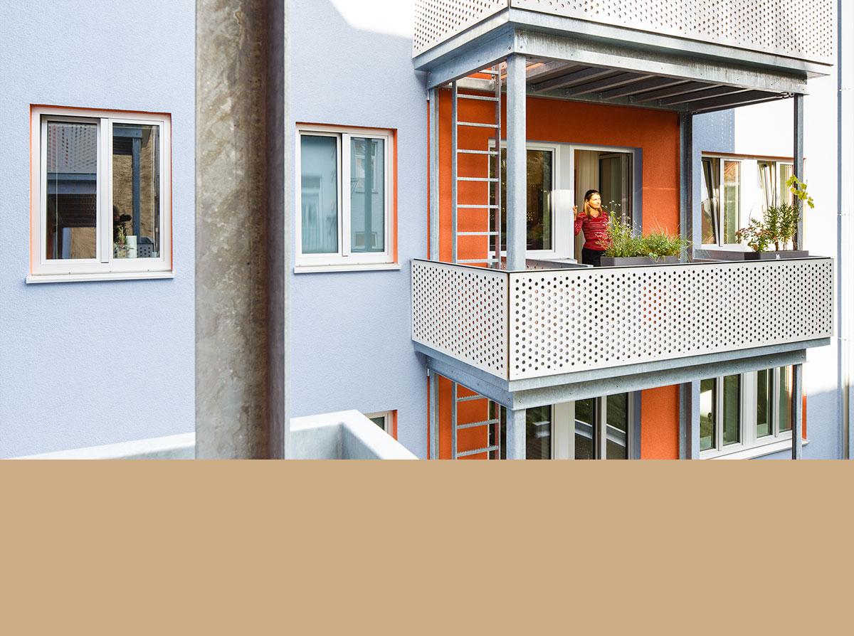 4architekten architekturb ro m nchen umbau wohnhaus for Mietshaus bauen